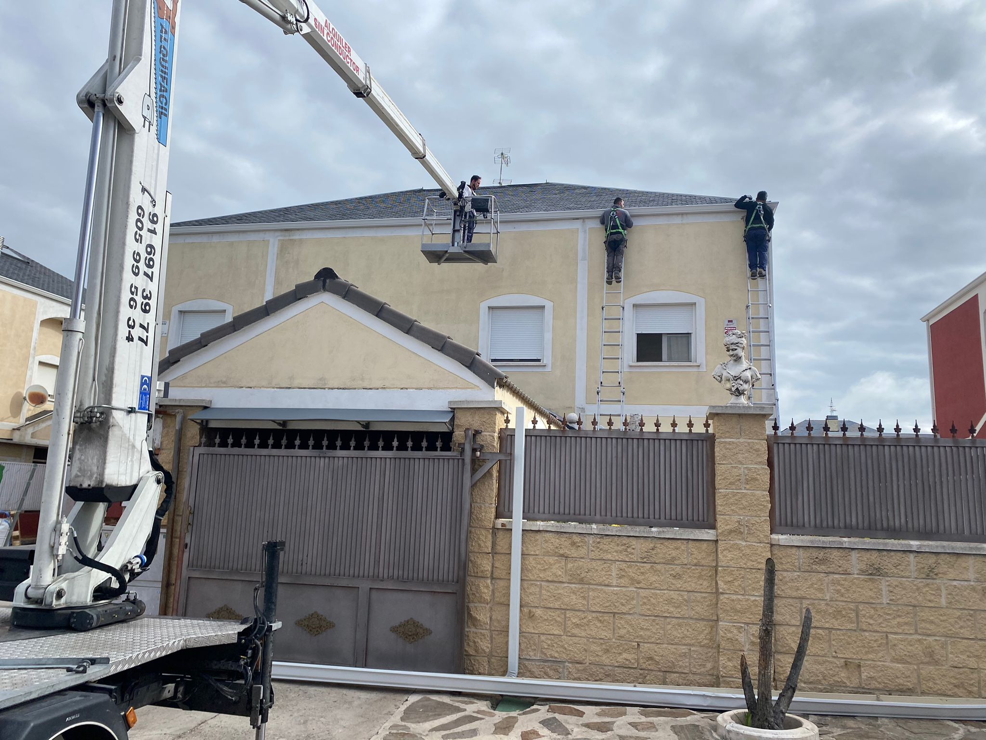 Reparación de tejados Prasanz